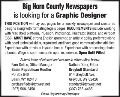Graphic Designer 2x3